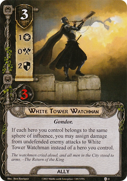 White Tower Watchman